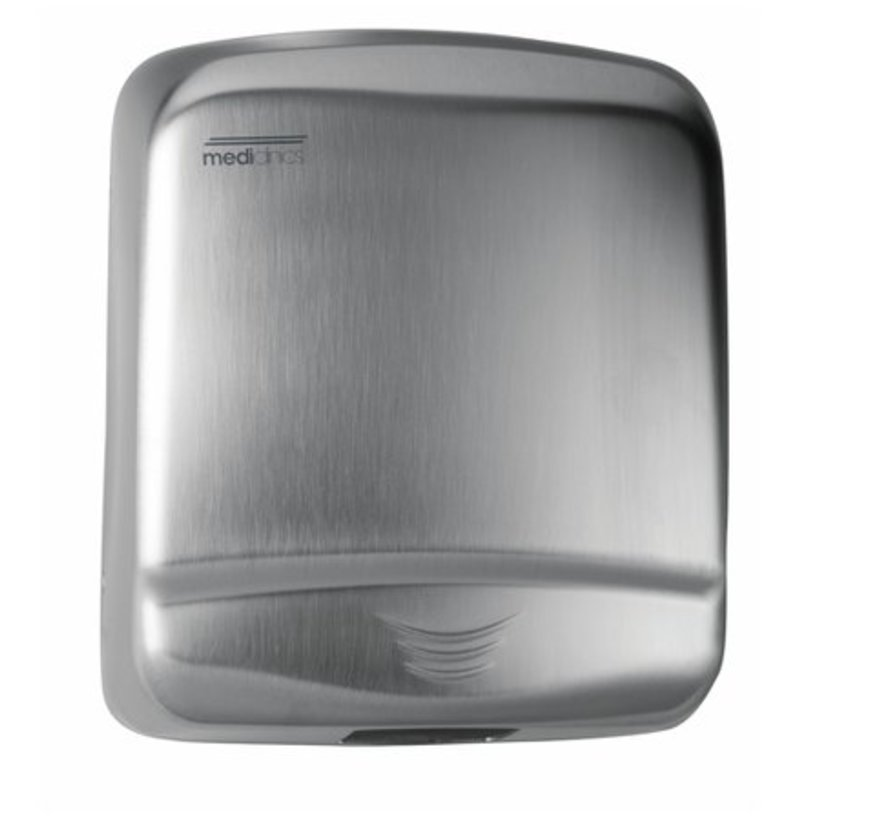 Hand dryer RVS automatic