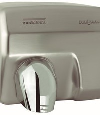 Mediclinics Hand dryer stainless steel look automatic