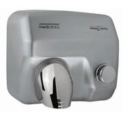 Mediclinics Handendroger RVS drukknop