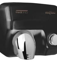 Mediclinics Hand dryer black push button