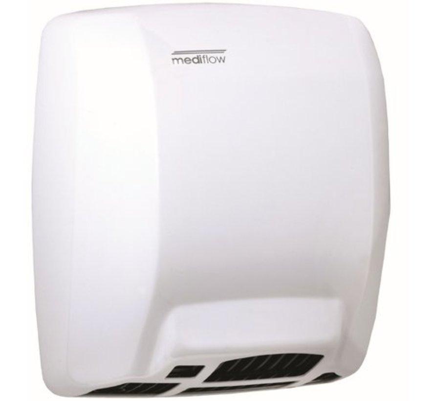 Sèche-mains blanc automatiquement