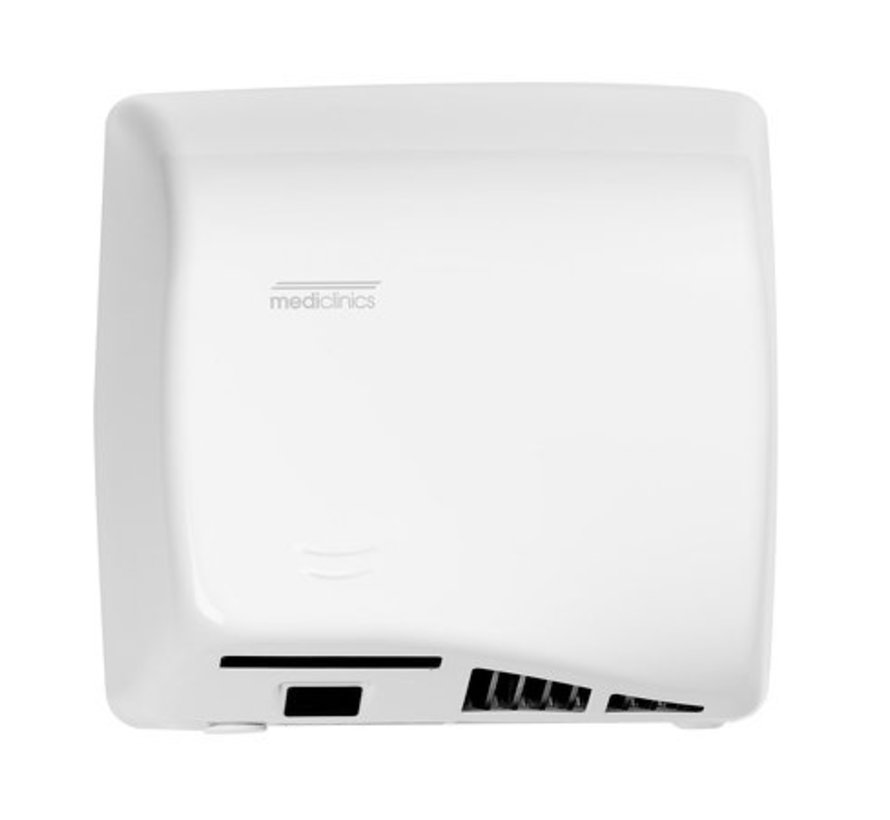 Hand dryer white automatically