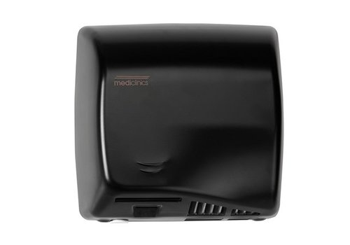 Mediclinics Hand dryer black automatically