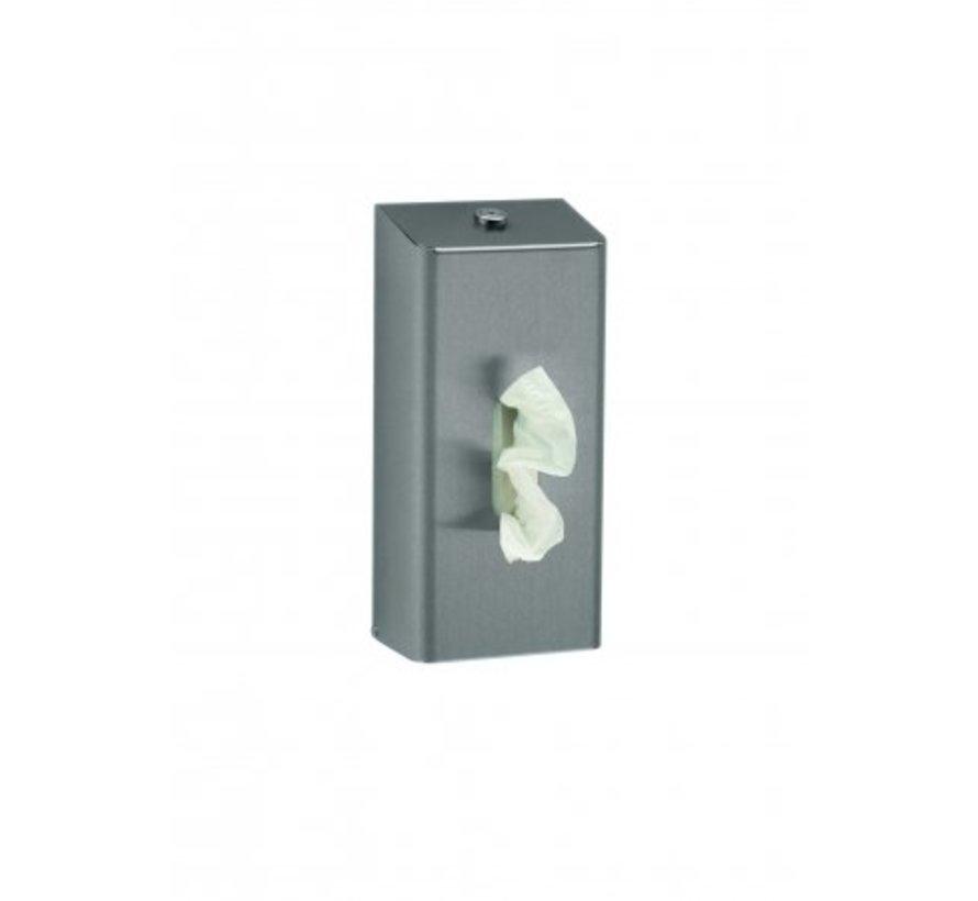 Tissue dispenser stainless steel