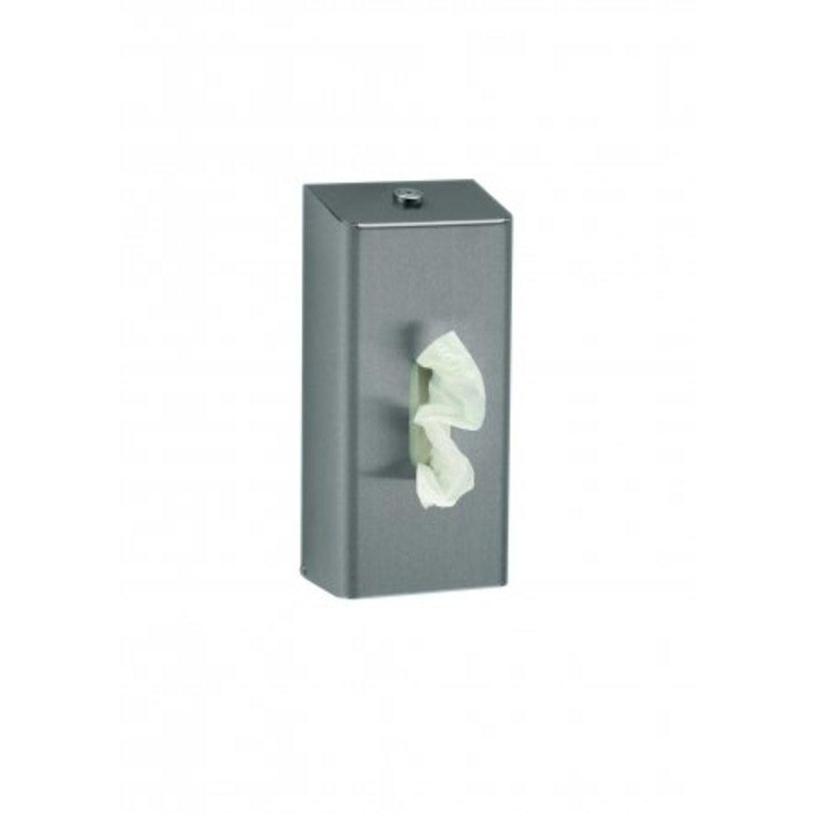 Tissue dispenser stainless steel-1