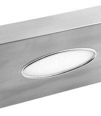 Mediclinics Facial tissue dispenser stainless steel