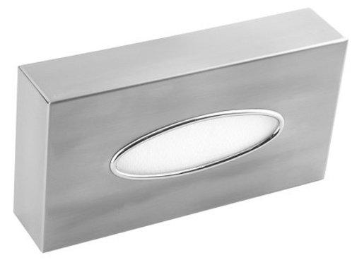 Mediclinics Facial tissue dispenser stainless steel
