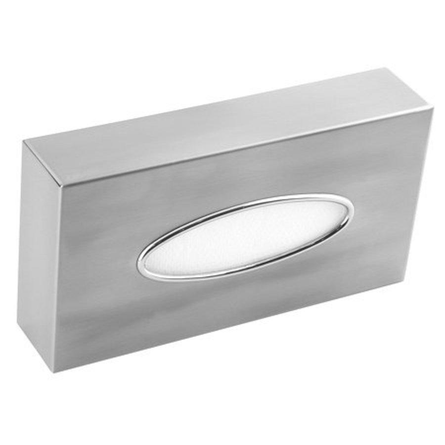 Facial tissue dispenser stainless steel-1