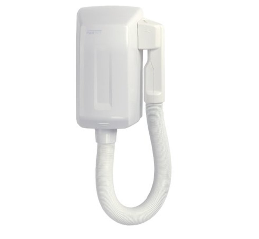 Hair dryer automatically white