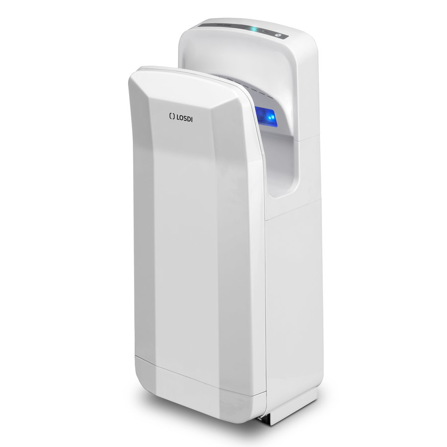Elegance white hand dryer-1