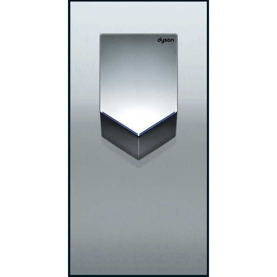 Airblade V wall plate, stainless steel-1