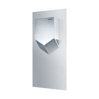 thumb-Airblade V wall plate, stainless steel-2