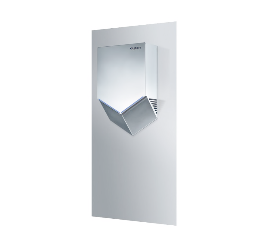 Airblade V wall plate, stainless steel
