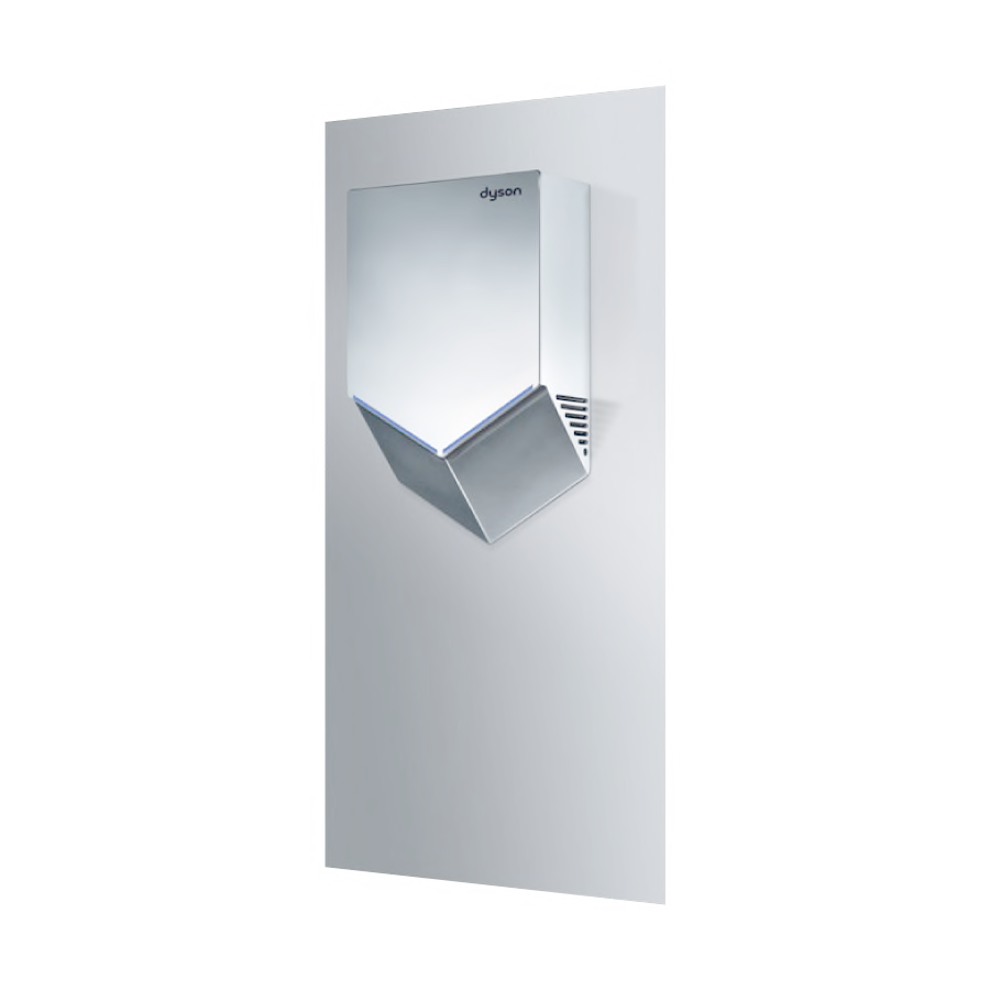 Airblade V wall plate, stainless steel-2