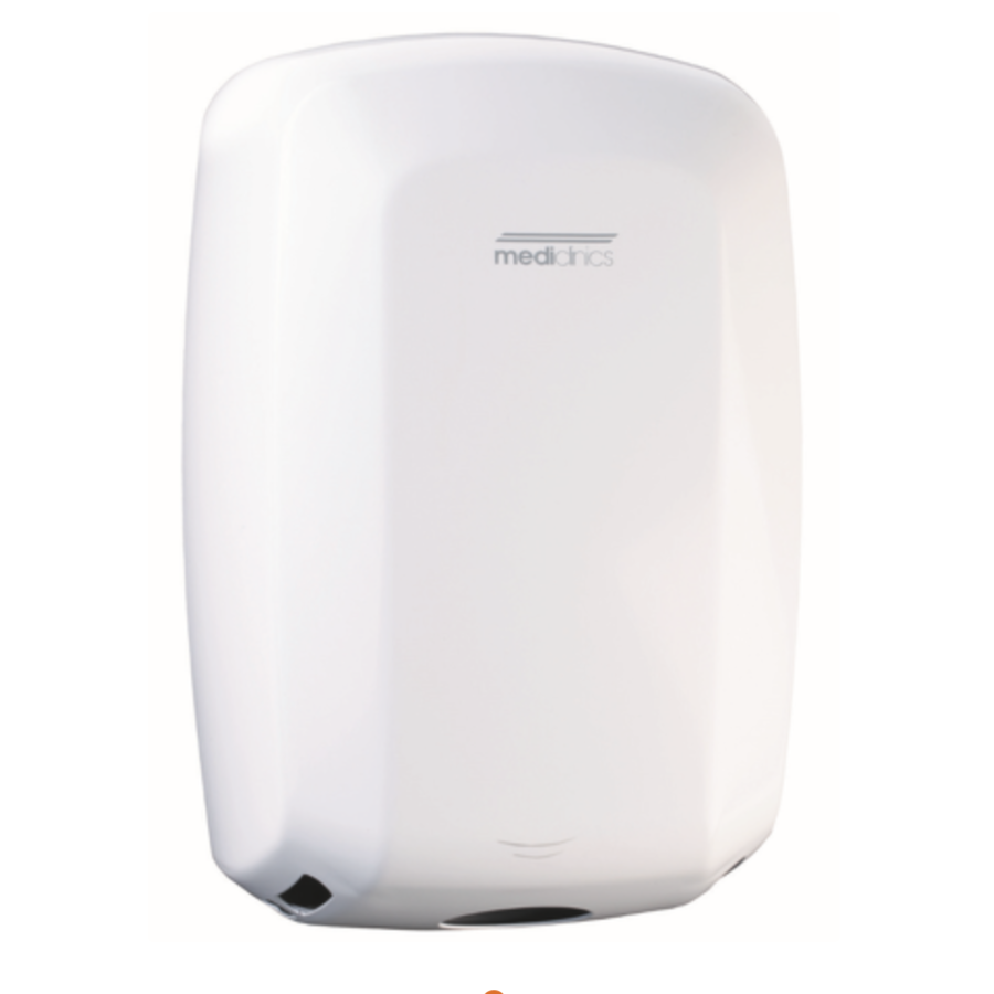 Hand dryer high-gloss automatic White-1
