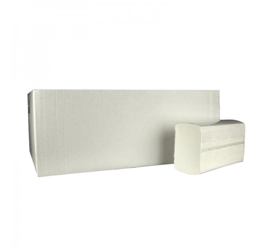 Z fold 2-layer cellulose towels