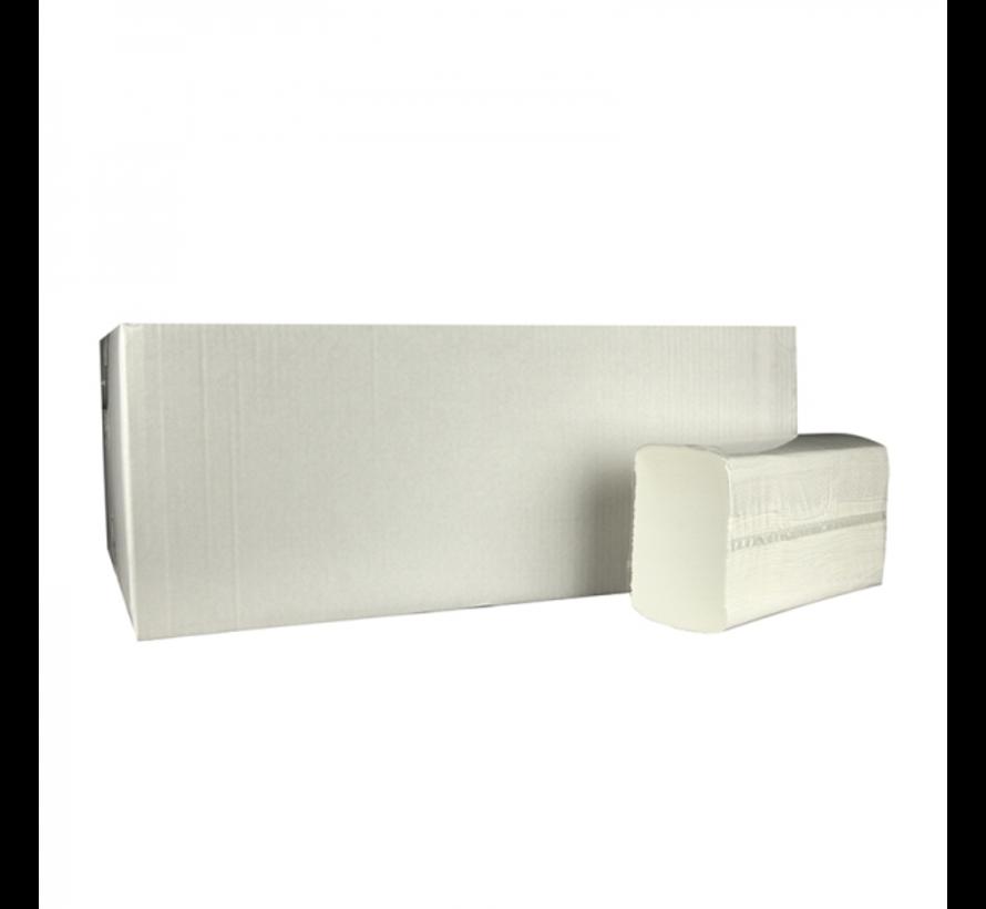 Z‐vouw 2 laags cellulose handdoekjes