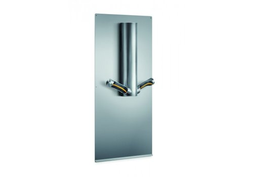 Dyson Airblade 9kJ wall plate, stainless steel