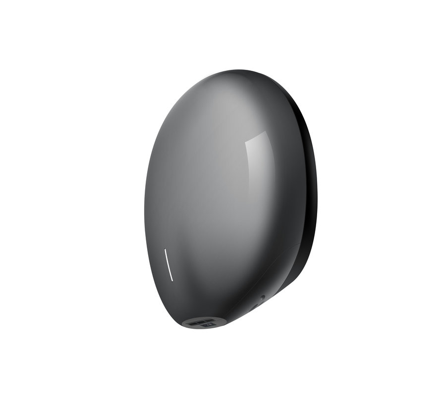 Pebble hand dryer grey