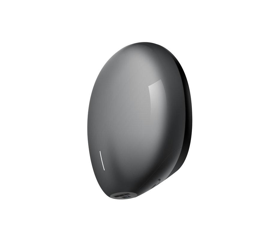 Pebble handdroger grijs