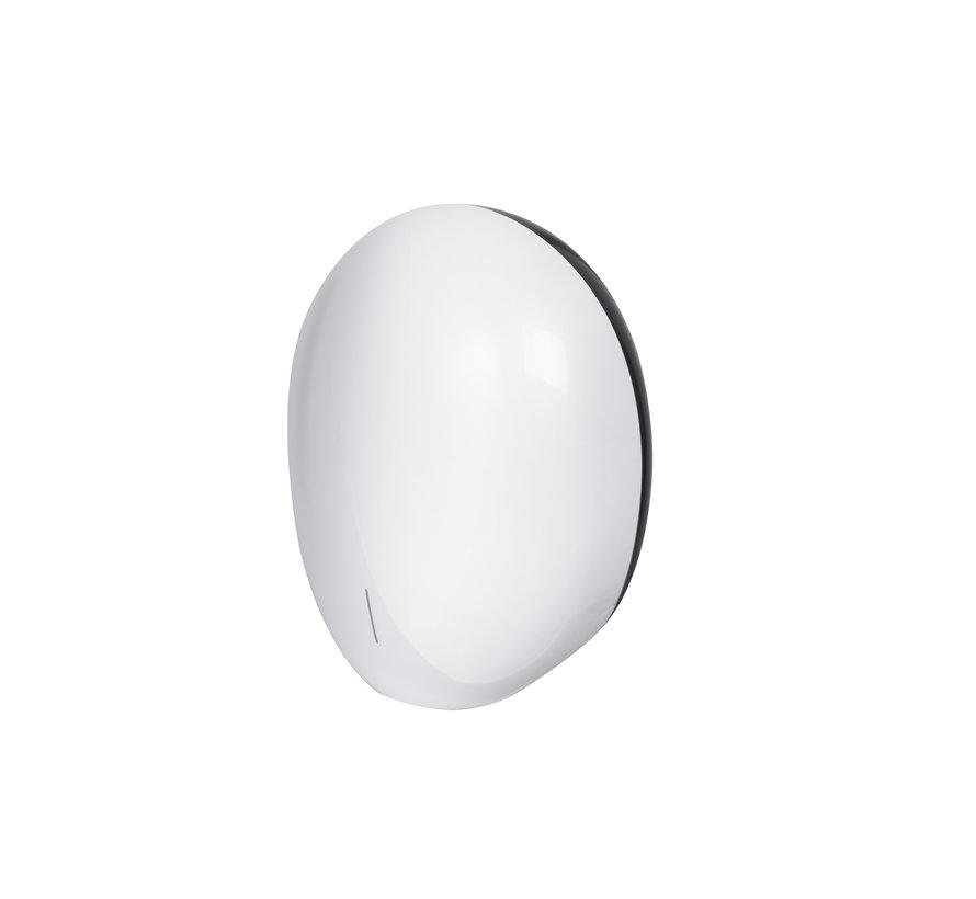 Pebble sèche-mains blanc nacré