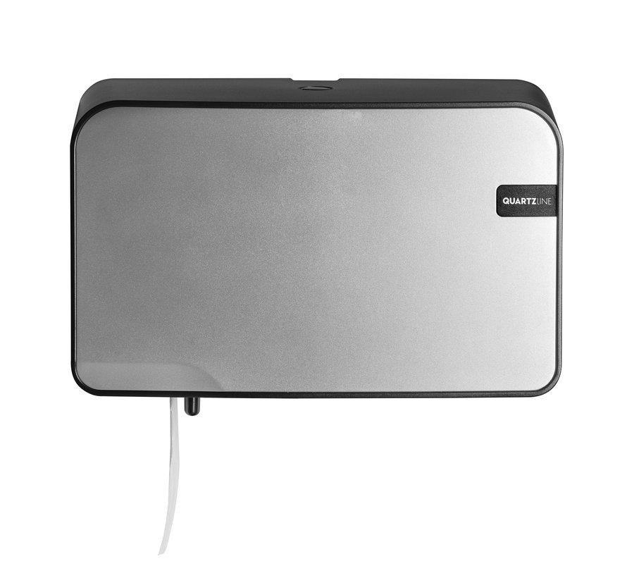 Quartz duotoiletrolhouder compact/traditioneel