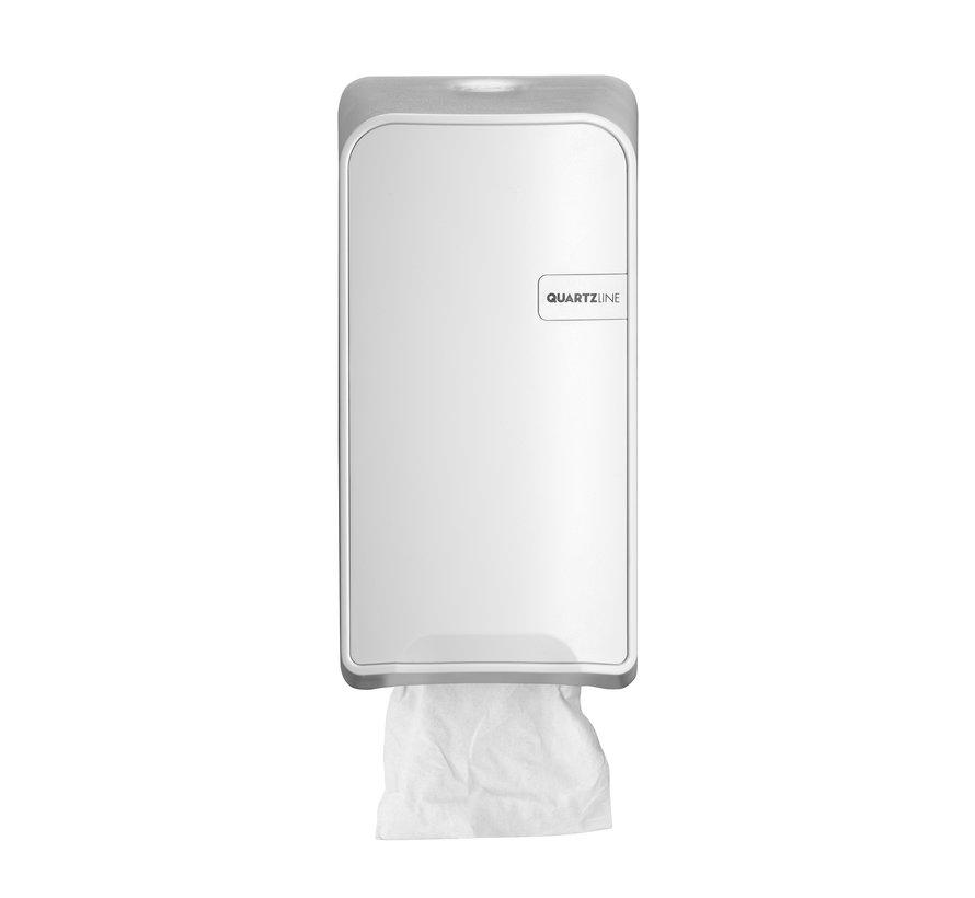 Quartz toilet paper holder bulk pack
