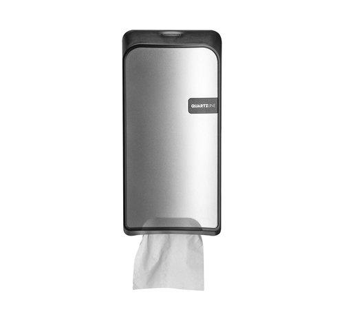 Euro Products Silver Quartz toiletpapierhouder bulkpack
