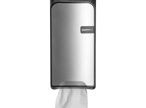 Euro Products Quartz porte-rouleau de papier toilette bulk