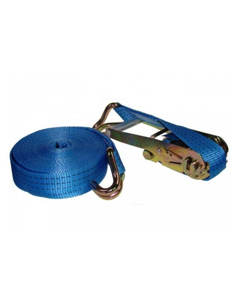 4m 2.5ton Ratchet Strap with Claw Hooks | Fieldfare Trailer Centre