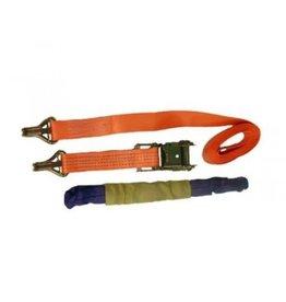 Forankra Prichard 4m Ratchet Strap with Claw Hooks & Soft Link