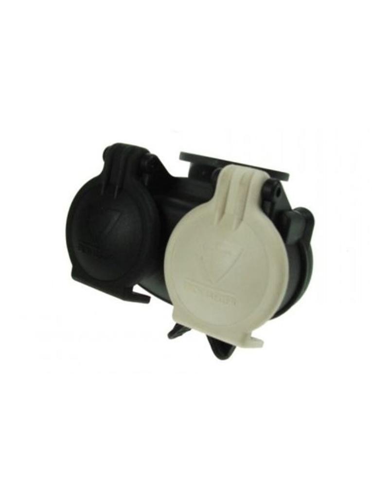 Professional Conversion Adaptor 13 Pin Socket to 2 x 7 Pin Plugs | Fieldfare Trailer Centre