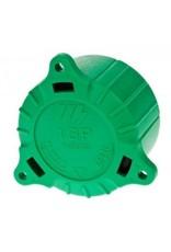 Green Cap for 8/13 Pin Plugs | Fieldfare Trailer Centre