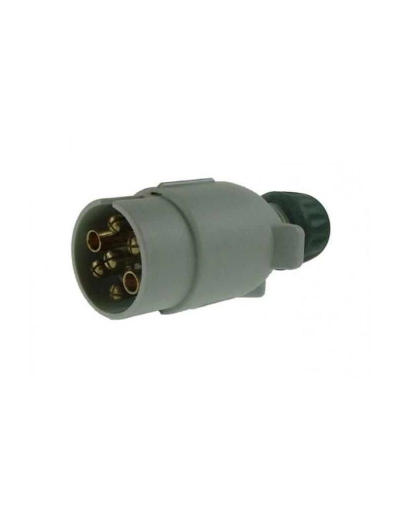 Line 1 12S 7 Pin Plastic Plug   Fieldfare Trailer Centre