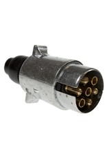 12N Metal Tow bar Electrical Plug | Fieldfare Trailer Centre