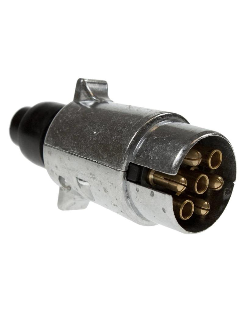 Line 1 12N Metal Tow bar Electrical Plug   Fieldfare Trailer Centre