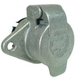 24N 7 Pin Aluminium Socket
