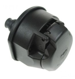 12v 13 Pin Plastic Trailer Socket with Fog Cut Off Lamp