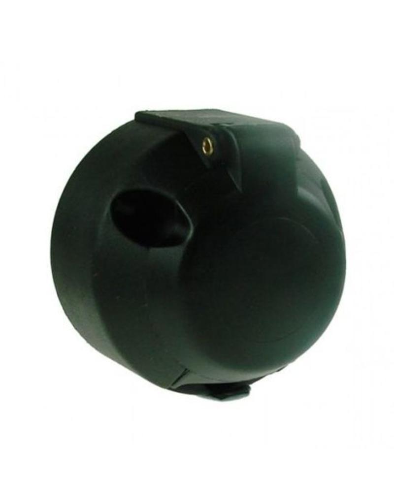 12v 7 Pin Plastic Trailer Socket with Fog Cut Off | Fieldfare Trailer Centre