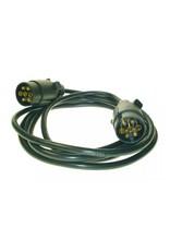 Maypole Trailer Connecting Lead 3m 12N 2 X 7 Pin Plugs | Fieldfare Trailer Centre
