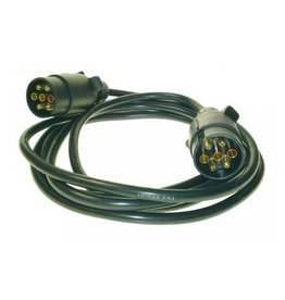Trailer Connecting Lead 3m 12N 2 X 7 Pin Plugs