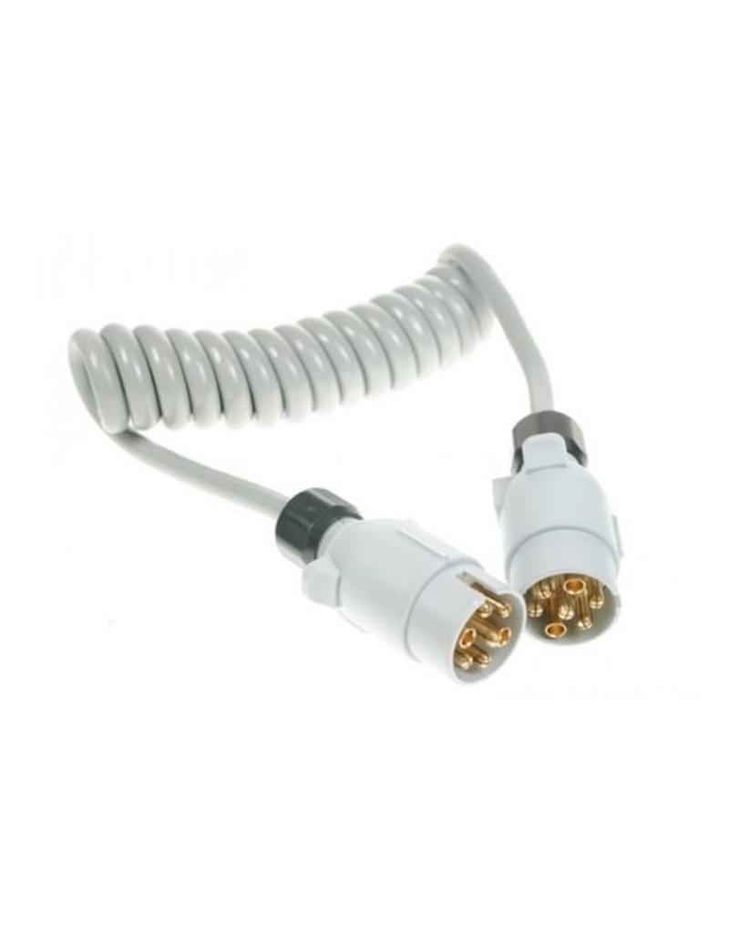Trailer 1.5m Conversion Lead 12S 7 Pin Plugs | Fieldfare Trailer Centre