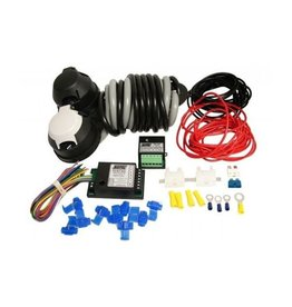 Maypole 12N 12S Wiring Kit 2m C W 7 Way Bypass 30A Combi Relay