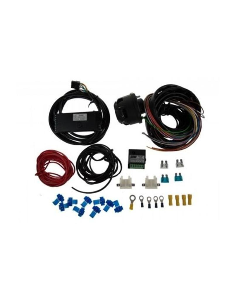 13 pin 2m wiring kit 7 way zr2500 and 30a combination relay | fieldfare  trailer centre