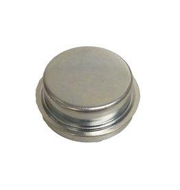 Plain 64.2mm Steel Hub Cap for Knott