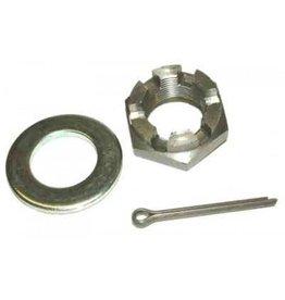 Knott Castelled Axle Nut 3/4 unf Pack of 2