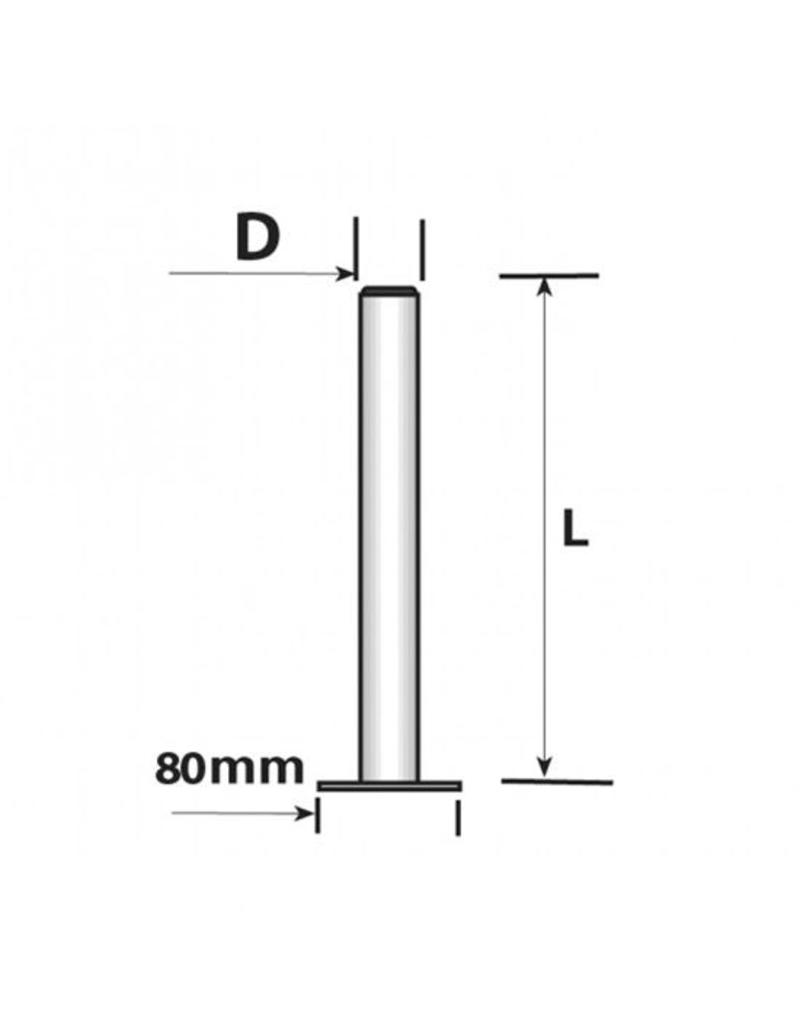 600mm x 42mm Trailer Propstand | Fieldfare Trailer Centre