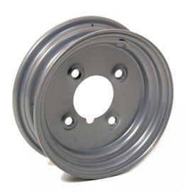 "WSL Silver Trailer Wheel 8 Inch Rim Steel 2.5J x 4"" PCD 4 Holes"
