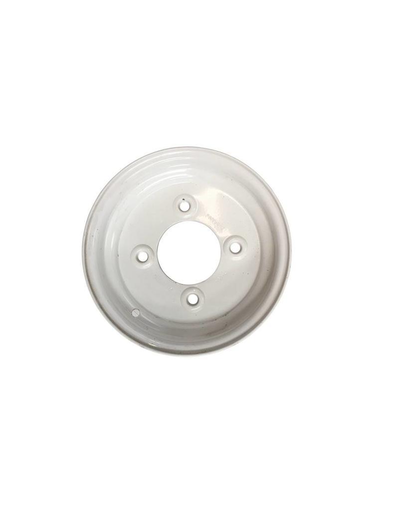 Trailer Wheel 10 inch Rim Steel 3.50J x 5.5inch PCD x 4 Holes - Silver | Fieldfare Trailer Centre