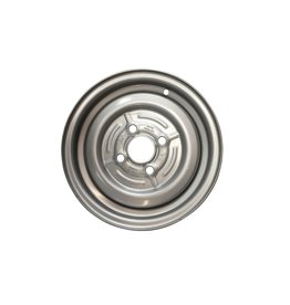 Wheel 13 inch Rim Steel 4.50J x 100mm PCD x 4 Holes 30 Offset 57mm Centre Bore Hole
